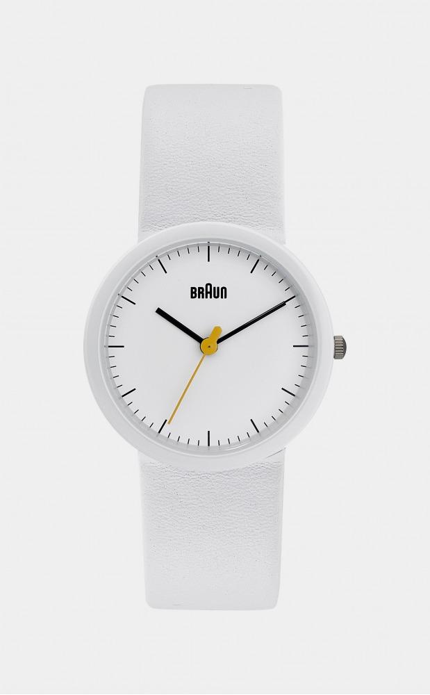 Braun Ladies Watch White