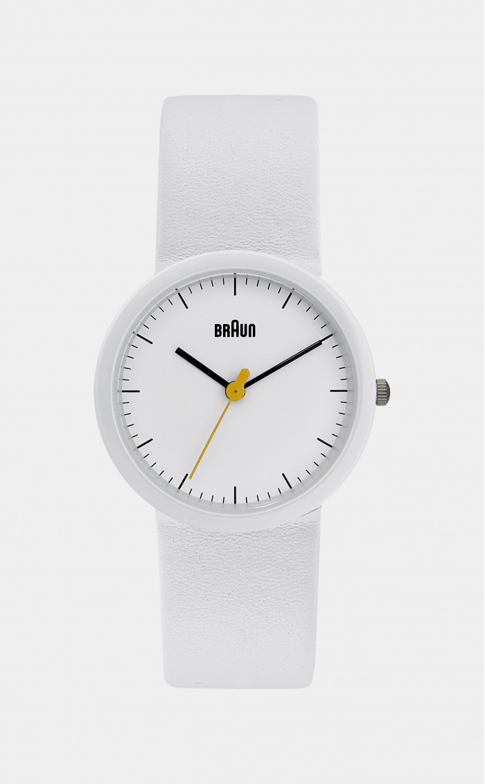 Braun Ladies Watch White
