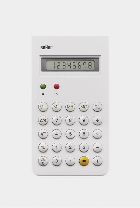 Braun Calculator White