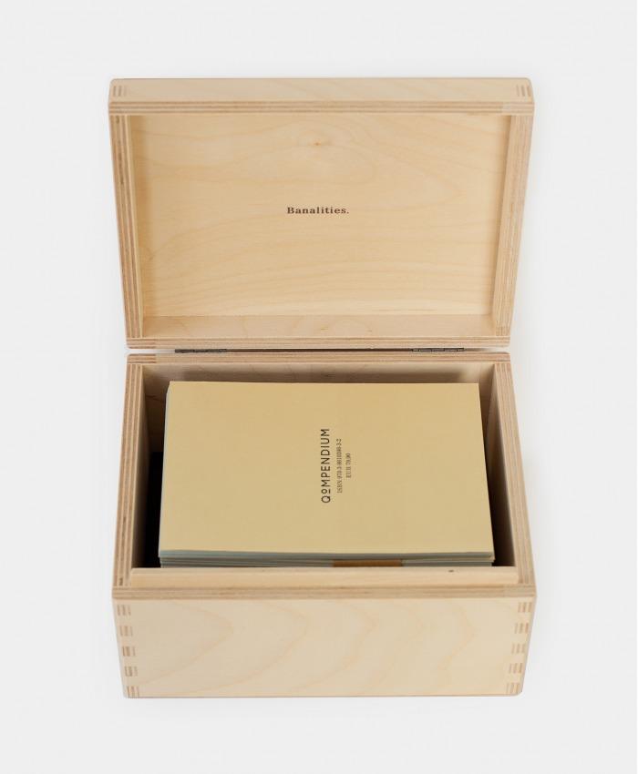 Qompendium Banalities Stationery Set