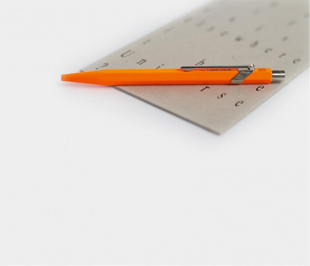 Caran d'Ache Ballpoint Fluorescent Orange