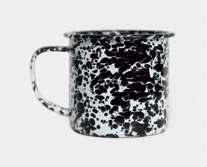 Enamel Mug Black