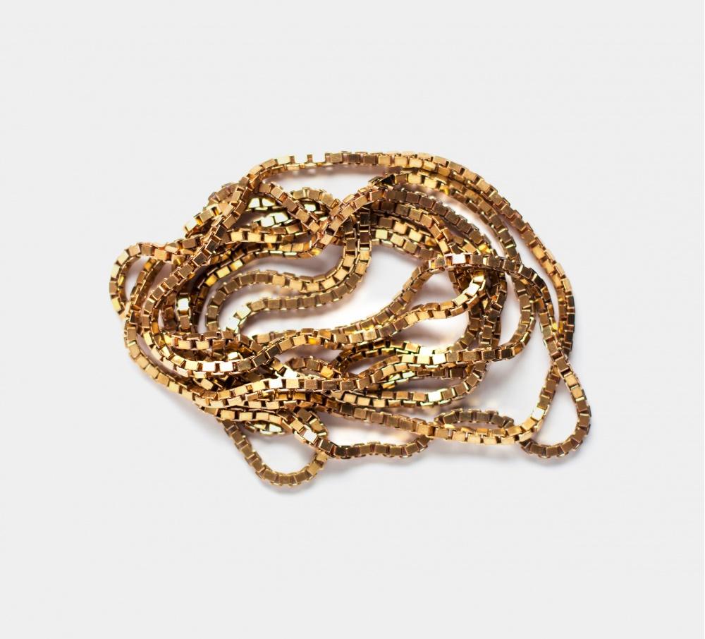 Fédéral Brass Eternity Necklace