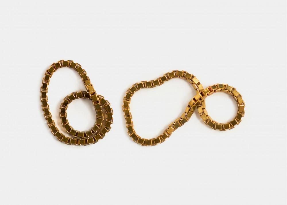 Fédéral Brass Eternity Ring