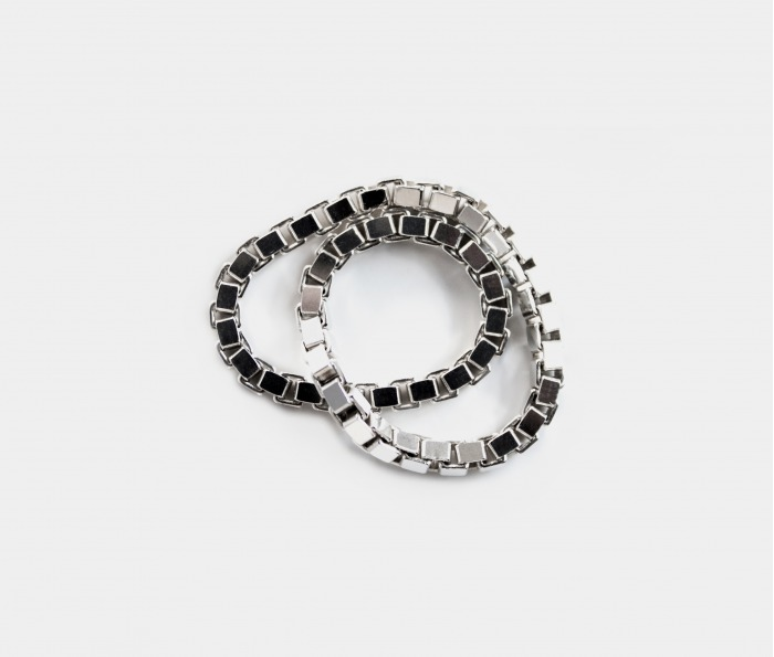Fédéral Silver Eternity Ring