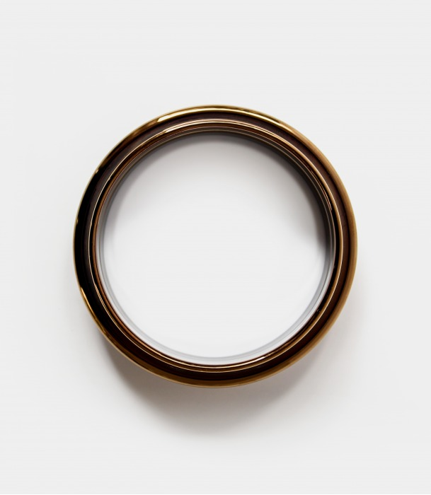 Christian Metzner Porcelain Bangle Copper