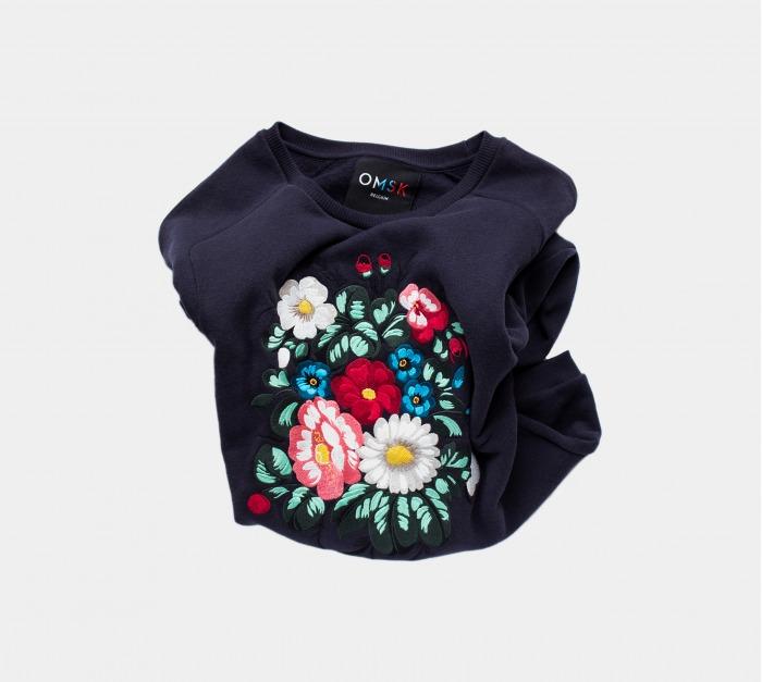 OMSK Dragon Flower Sweatshirt